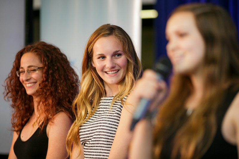 Team Disaster Mesh during Exponential Youth Camp graduating ceremonies. Photo Credit: Singularity University